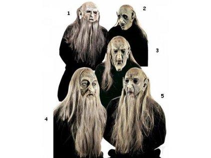 maska s vlasy vousy 8315