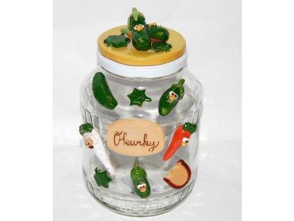 sklenice na okurky