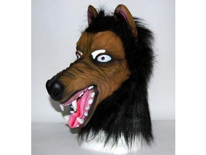 Maska vlk cerny 8815
