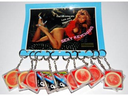 Privesek kondom 6848
