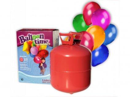 Helium na 50 balonku