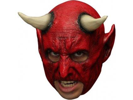 Maska demon bez pusy
