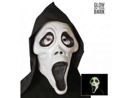 Maska vriskot fosforujici