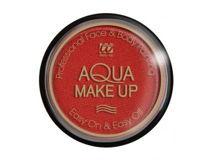 Metalicky cerveny make up