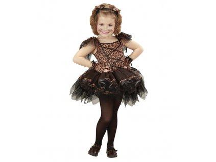 Kostym balerina leopard
