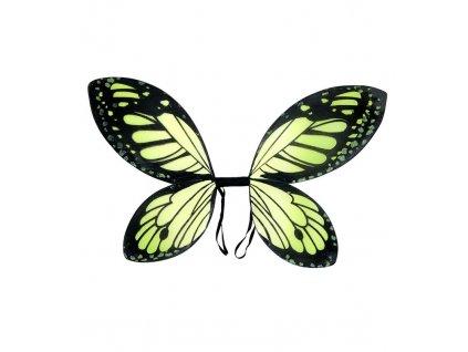 Kridla motyl zelena