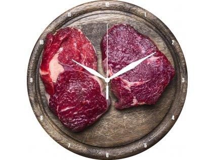 Hodiny kuchar maso