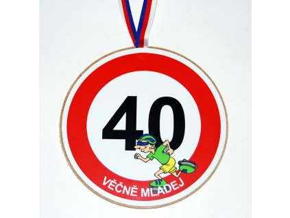 Medaile 40 muz