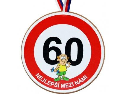 Medaile 60 muz
