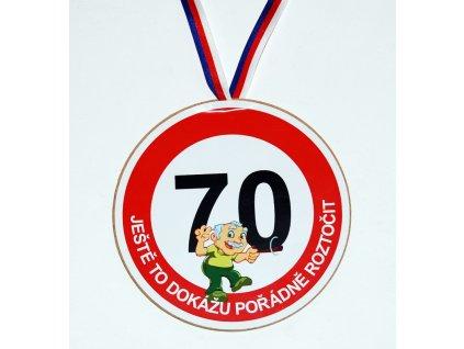 Medaile 70 muz
