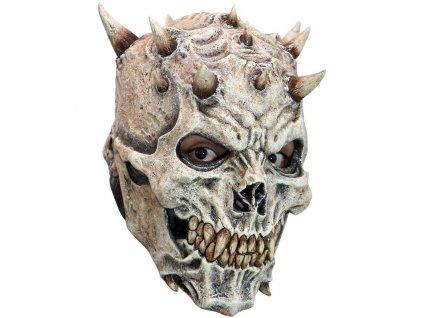 Maska lenka s rohy