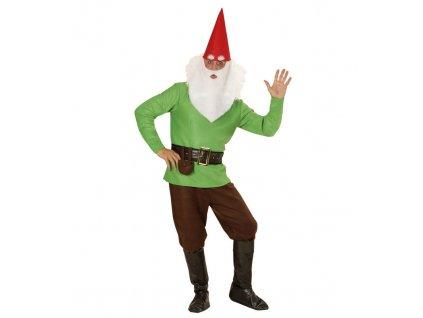 Kostym trpaslik zeleny
