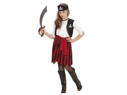 Kostym piratka detska