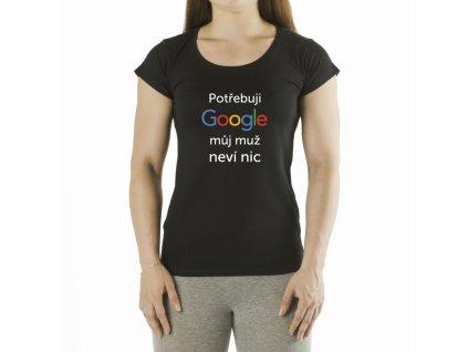 Tricko potrebuju google