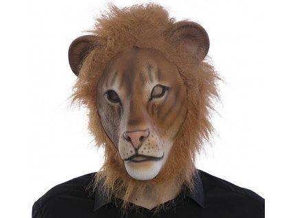 Maska lev