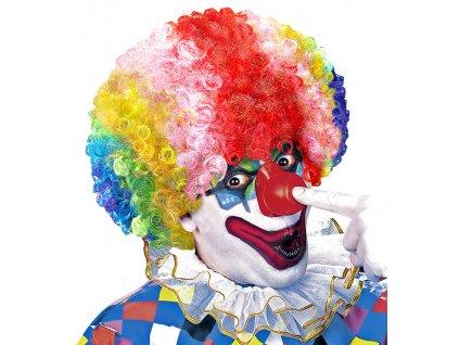 Paruka klaun barevna