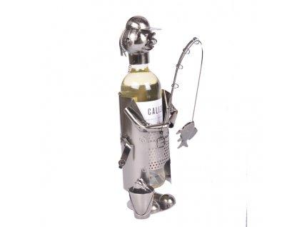 Stojan na vino rybar