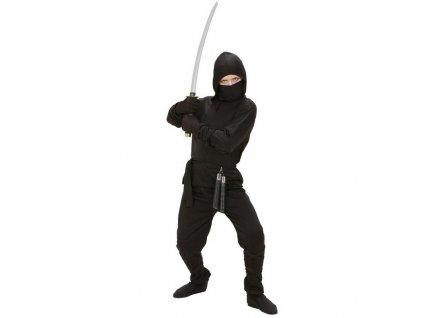 Kostym ninja cerny