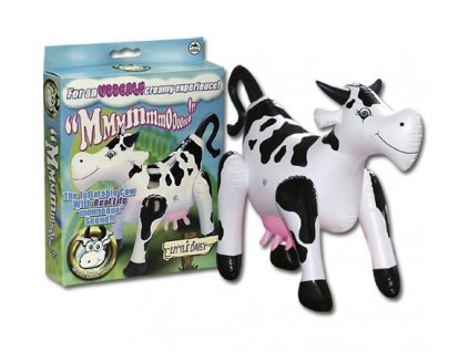 Nafukovaci krava se zvukem