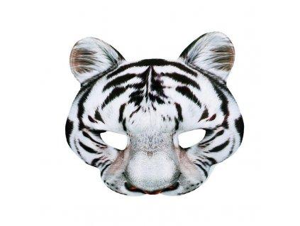 Maska bily tygr
