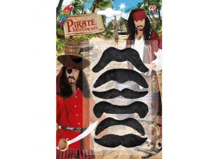 Paruka s vousy blond