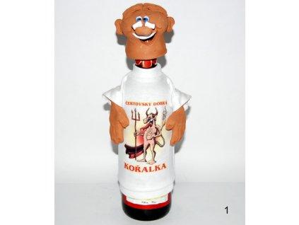 Keramicka hlava na lahev 1