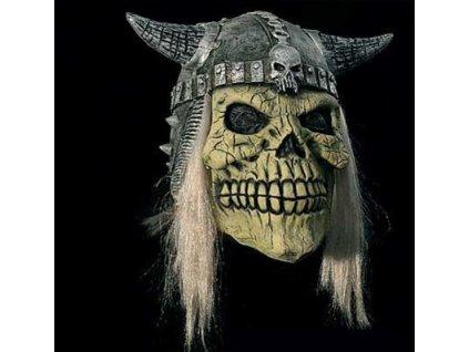 Maska lebka v helme