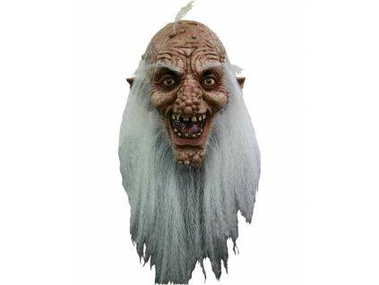 Maska deda s vlasy