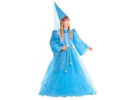 Kostym modra vila