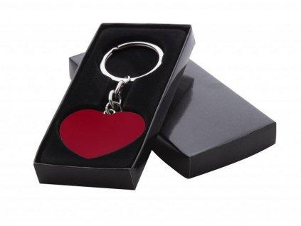 Privesek srdce v krabicce