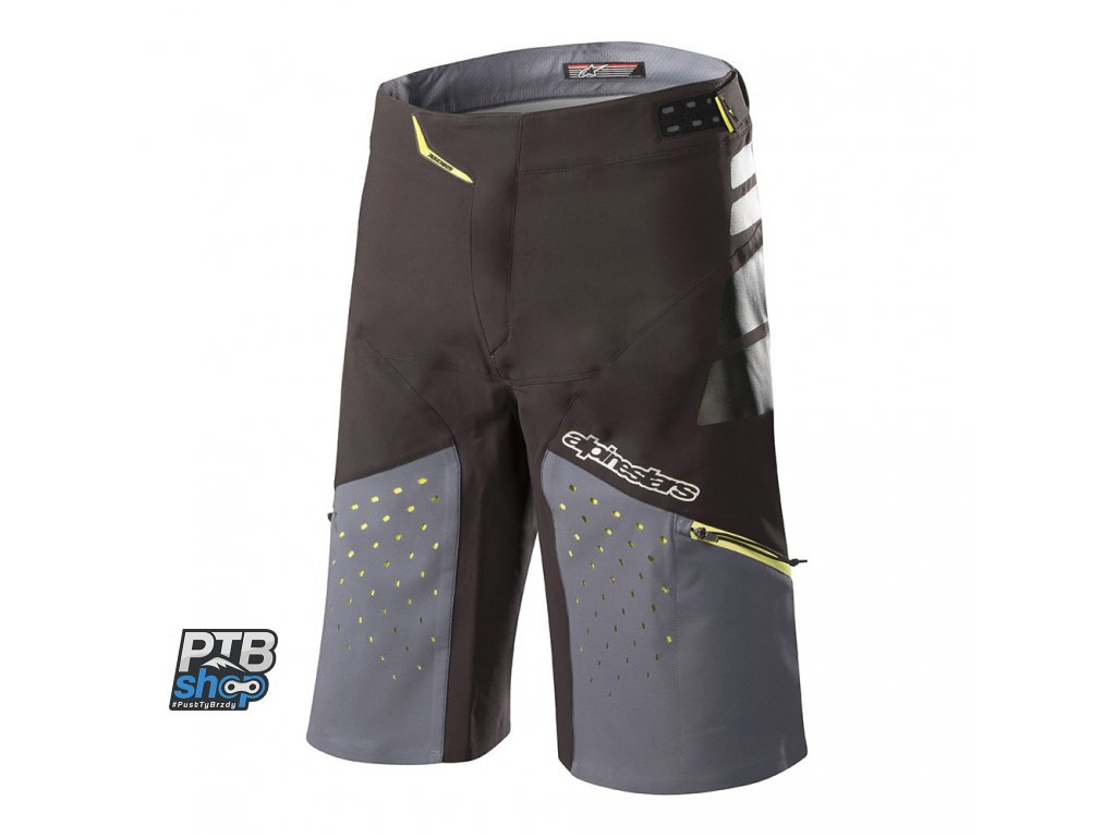 kratasy alpinestars drop pro black steel grey