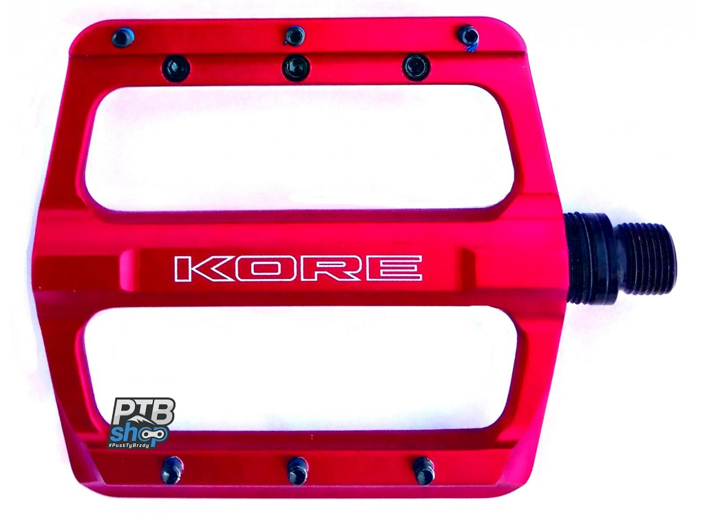 kore rivera pedaly red