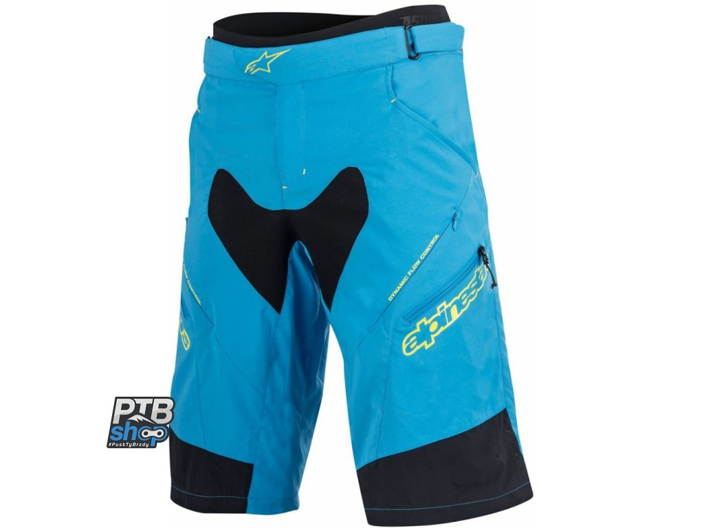 Alpinestars Drop 2 Shorts blue yellow