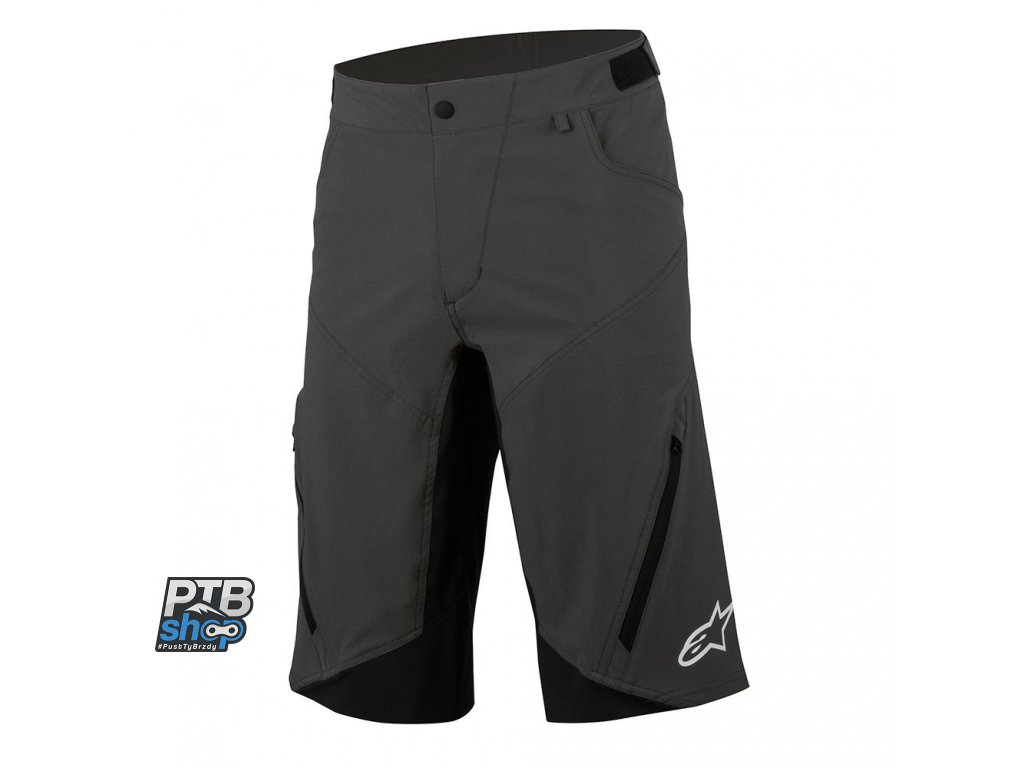 alpinestars northshore shorts black white kratasy
