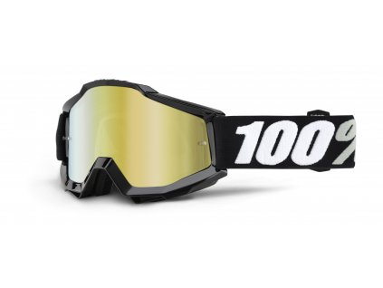 100 accuri tornado mirror gold lens