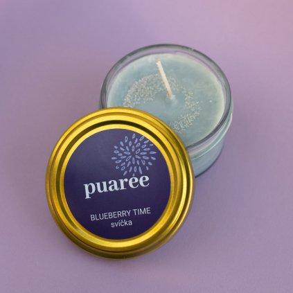 Svíčka Blueberry Time