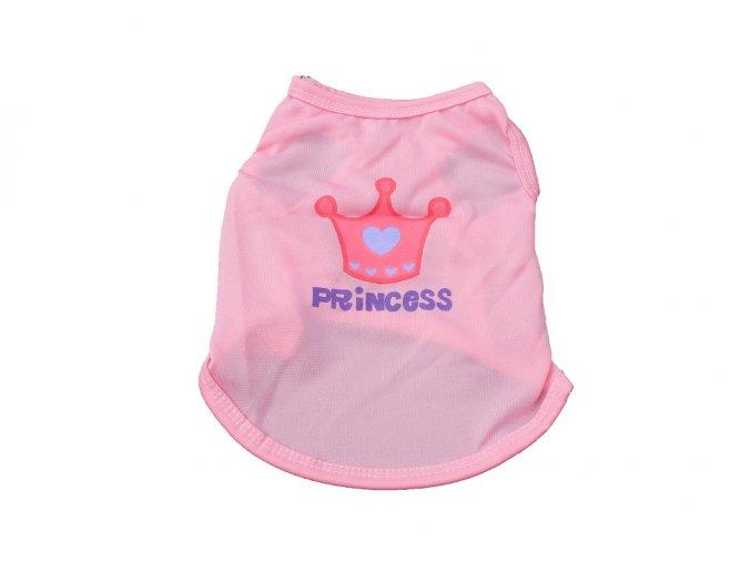 Tričko pre psíka PRINCESS