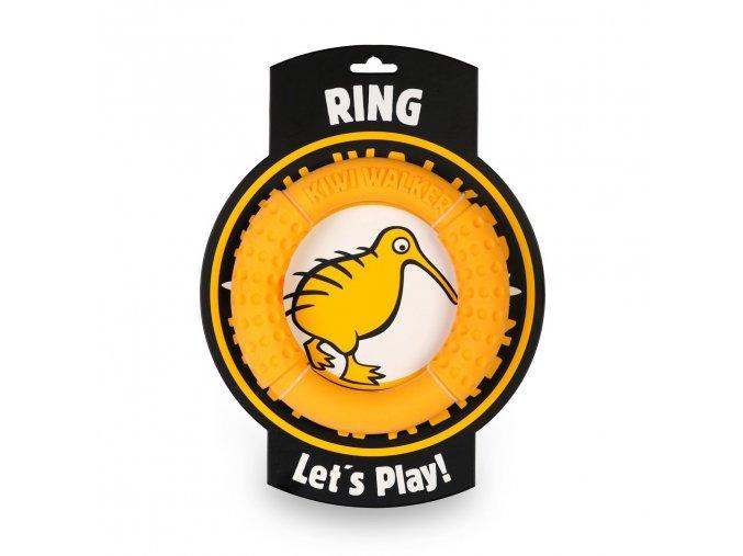 Kruh pre psov Kiwi Walker Ring oranzovy DOXBOX
