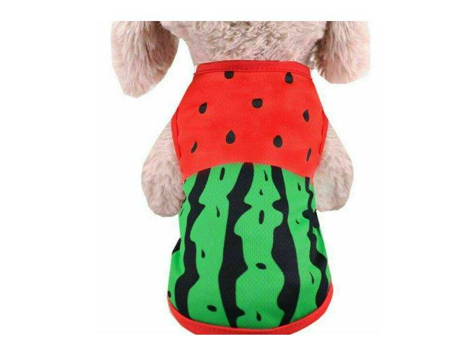Tričko meloń pre psíka