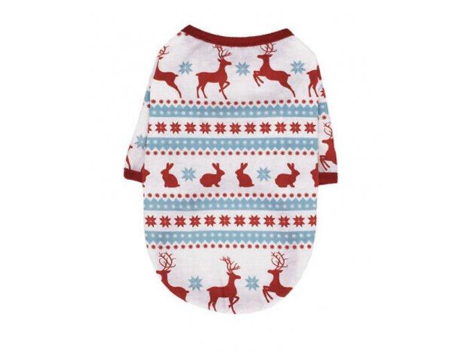 Tričko vianočné pre psíka