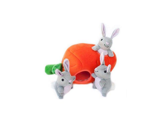 ZippyPaws - Zajaci v mrkve