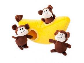 ZippyPaws - Opičky v banáne