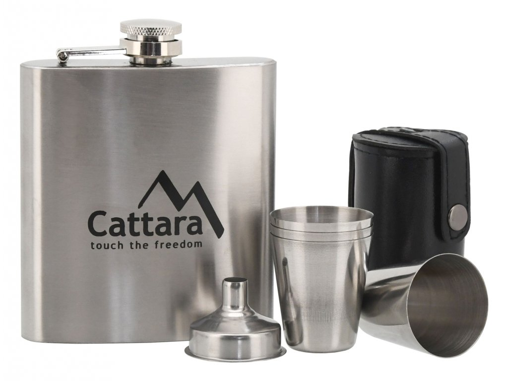 CATTARA lahev placatka 1+4 175ml
