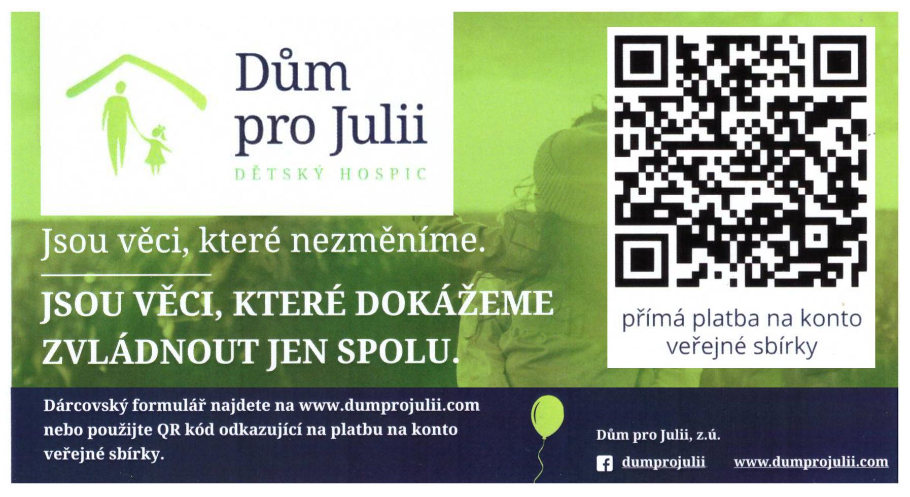 Veřejná sbírka na první dětský hospic v ČR