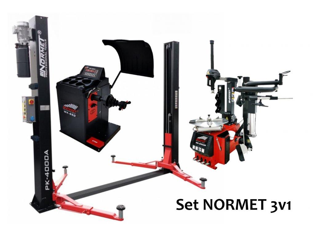 set NORMET 3v1