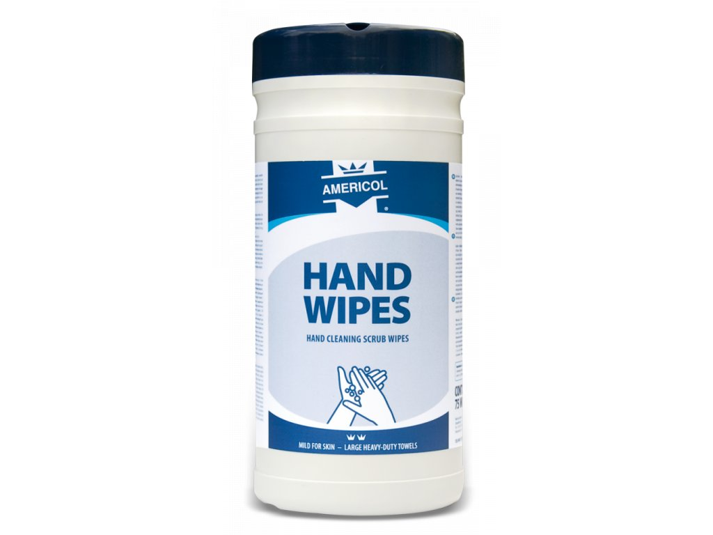 Hand Wipes utěrky k účinnému čištění rukou