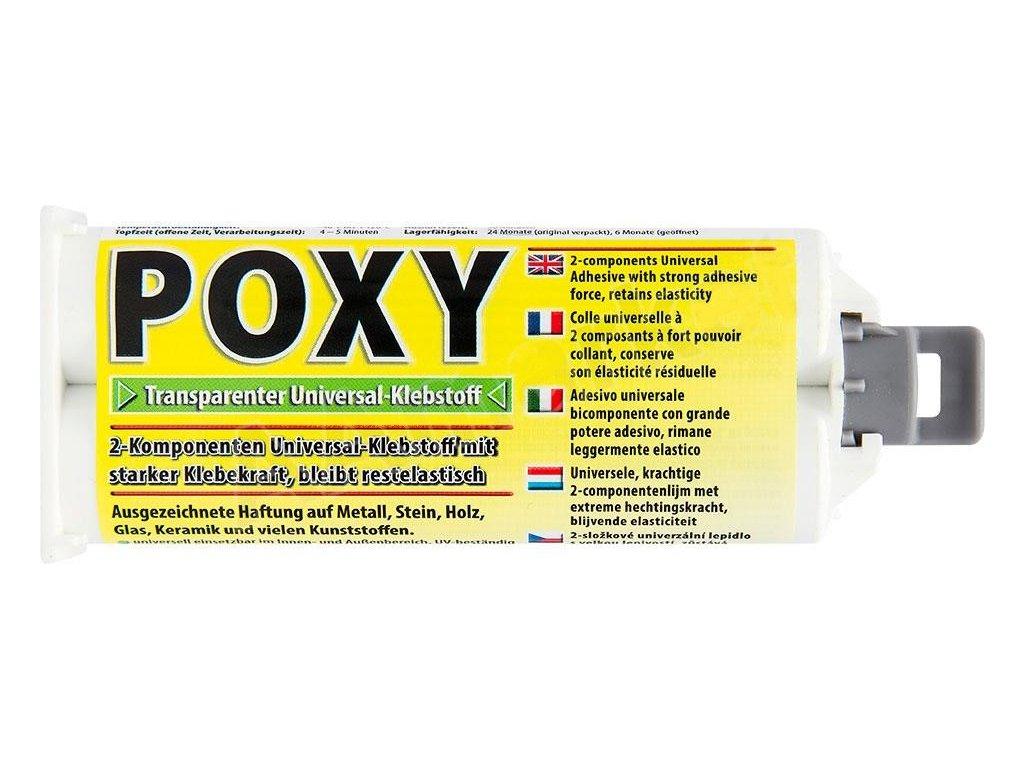 Dvoukomponentní epoxypryskyřičné lepidlo