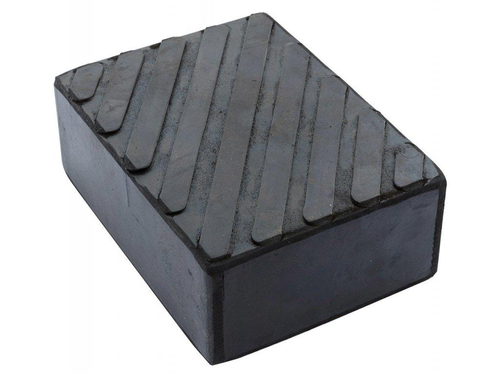 Gumová podložka zvedáku REDATS -  165x120x60 mm