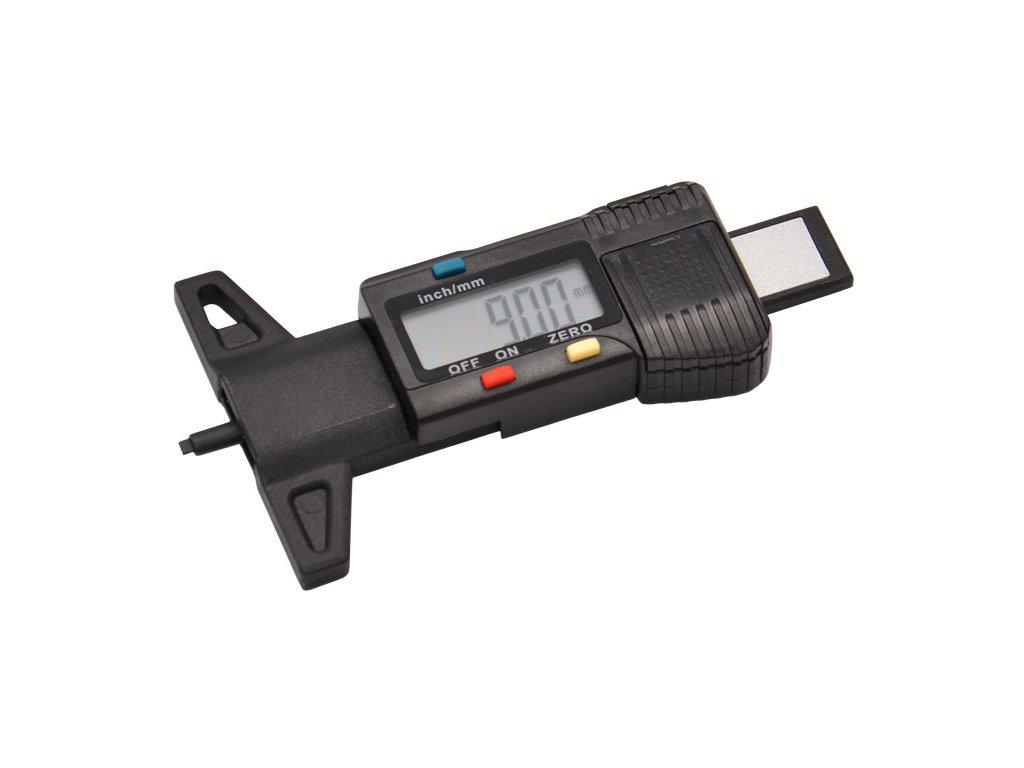 Digitální měřič hloubky profilu pneumatik