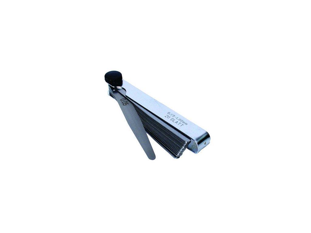 Sada spárové měrky 0.05-1mm 20listů VBV4080